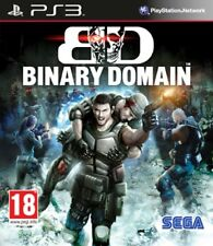 Playstation PS 3 PS3 Gioco Binary Dominio limited Edition nuovo
