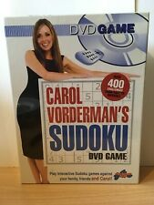 Carol Vorderman's Sudoku (DVD Game) Brand New Sealed Pack Drumond Park