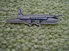 Pin SAS Flugzeug Scandinavien Airlines Star Alliance System Propellermaschine