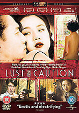Lust, Caution (DVD, 2008)New & Sealed R2