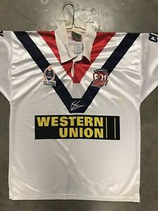 Sydney Roosters Jersey Size Large