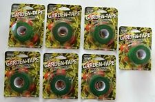 Garden Tape Self Adhering Biodegradable Gardening Plant Tape Lot of 7 Pieces New