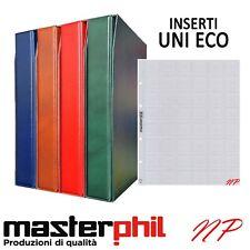 Album Raccoglitori e fogli per monete e banconote UNI ECO Masterphil