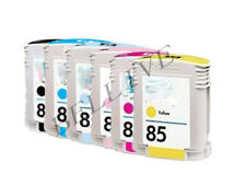 7 CARTUCCE PER HP84 HP85 Designjet 90r, 90gp, 90, 30n, 30gp, 30, 130nr, 130gp