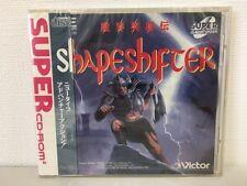 PC Engine Super CD Rom SHAPE SHIFTER SHAPESHIFTER Japan JP GAME New z2298