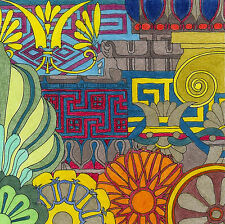Limited Edition Art Print on Canvas 'GREEK ORNAMENT' Artist signed & numbered