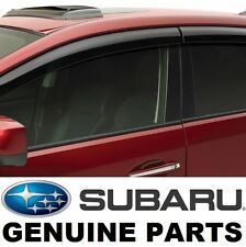09-13 Subaru Forester Side Window Deflectors Rain Guards Vent Visors E3610SC200