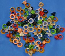 """Eyelets for Craft, Scrapbooking- 100 Lot, Assorted Colors 5/16"""" Embellishments"""