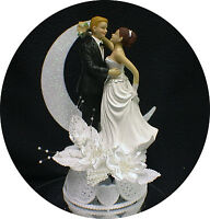 wedding cake toppers red hair groom bald groom you hair color blond brown or 26587