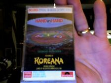 Koreana- Hand in Hand- Seoul Olympics- rare new/sealed cassette tape