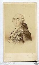 photo cdv Charlet & Jacotin à Paris . 1863 . Louis XVI .. d'après un dessin.