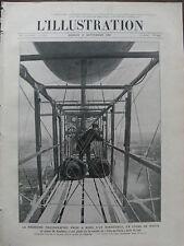 L'ILLUSTRATION 1907 N 3369 LE DIRIGEABLE VILLE DE PARIS