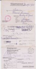 GERMANY WW II STALAG POW COVER COLLECTION #2