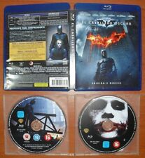 Batman: El Caballero Oscuro (The Dark Knight) [2 Blu-Ray & Region Free ABC]
