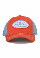 Von Dutch Trucker Cap vdht 92 ORANGE ARANCIONE BLUE