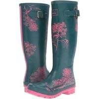 Joules Welly Print (Hydrangea) 30% OFF **ONLY ONE PAIR OF UK 6's LEFT**