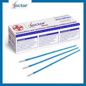 100 Spazzolini per prelievo citologico endocervicale non sterili DOCTOR BRUSH