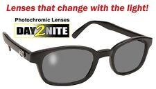 X KD Original Clear to Smoke Sunglasses Photochromic KD's W/ Case Day2Nite 1011