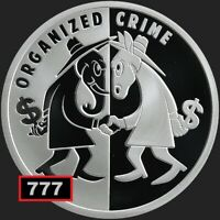2019 1oz ORGANIZED CRIME USSA 2020 #3 SILVER SHIELD SSG 777 spy vs spy