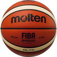 New Molten Basketball GL7 FIBA Officilal Game Ball Size:7 GL7X BGL7X F/S Japan