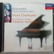 Rubinstein, Anton: Piano Concerto No. 4 etc. / Cherkassky / Decca CD 448 063-2