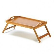 BAMBOO WOOD  BROWN AND SOLID TRAY