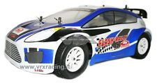 R0159 CARROZZERIA FLASH RALLY 1/10 ON-ROAD VERNICIATA COMPLETA KIT ADESIVI VRX