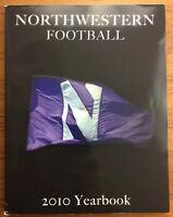 Northwestern Football 2010 Yearbook WILDCATS Players UNIVERSITY Evanston IL