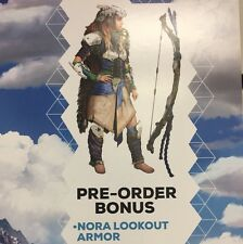 Horizon Zero dawn NORA LOOKOUT DLC PS4