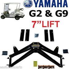 "YAMAHA G2 & G9 Golf Cart JAKE'S 7"" DOUBLE A-Arm Lift Kit  #7407"
