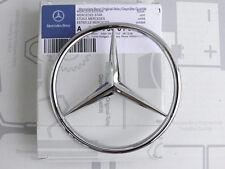 Original Mercedes Stern für Heckdeckel R107 280, 350, 380, 450, 500SL Metall NEU