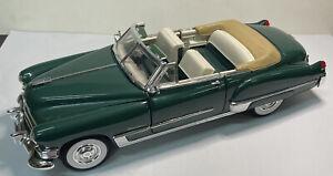 Road Signature 1/18 Scale Model Car 92038 - 1949 Cadillac Coupe de Ville - Green