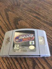 Wayne Gretzky's 3D Hockey Nintendo 64 N64 Game Cart Good Works NE5