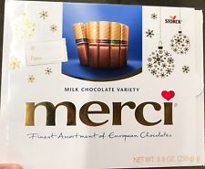 STORCK - MERCI MILK CHOCOLATE VARIETY NET  8.8 oz (250g )