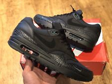 NIKE AIR MAX 1 PRM SAFARI MINI SWOOSH  BLACK BONSAI UK7.5 EUR 42 US8.5 1/97 270