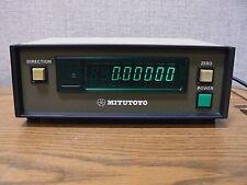 MITUTOYO MODEL ARC - 2705 DIGITAL X - AXIS READOUT CODE NO. 164 - 766