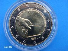 """♣ Pièce 2 euros  MALTE 2011  """" Premiers Représentants Maltais """" sous capsule"""