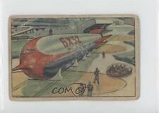 1951 Bowman Jets Rockets Spacemen #3 To The Launching Ring Non-Sports Card 0s4