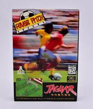 Fever Pitch Soccer Atari Jaguar Complete in Box