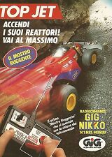 X1505 Top Jet il mostro ruggente - Gig Nikko - Pubblicità del 1991 - Vintage ad