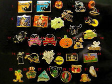 Pick FOUR Halloween Floating Living Locket Charms Witch Bat Pumpkin