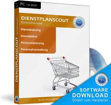 Einzelhandel Dienstplanung,Personalplanung,Dienste,Software Programm,Arbeitszeit