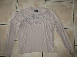 t shirt beige Sun Valley taille M