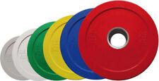 Toorx Disco Olimpico in Gomma Microcarico Bumper Olimpionico Boccola in Acciaio
