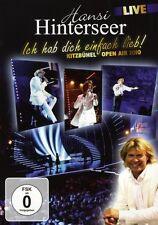 """HANSI HINTERSEER """"KITZBÜHL OPEN AIR 2010"""" DVD NEW+"""