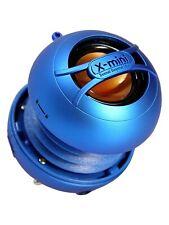 X-mini uno (azul) - portátil Mini Altavoz con jack de 3.5mm y sonido masivo!
