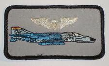 Aufnäher Patch Namemsschild US Air Force F-4 Phantom Pilot .........A3673