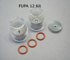 TIG Welding Weld FUPA #12 Pyrex Cup Kit 9 20 Torches Gas Lens 3/32