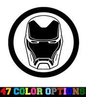Vinyl Decal Truck Car Sticker Laptop - Marvel Infinity War Avengers Iron Man
