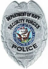 Department of Navy Security Forces Police  patches NEW    ***Last in my stock***